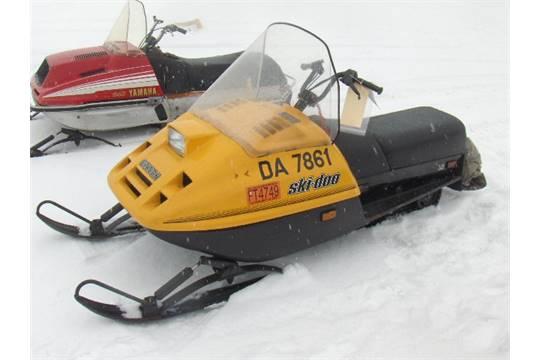 1987 SKI DOO 250 CITATION 321700320 Snowmobile Owner Started At