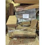1 x Pallet of Mixed Stock/Stationery Including Flip Chart Pads, Lever Arch Files, Box Files, Archive