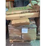 1 x Pallet of Mixed Stock/Stationery Including Recycling Bins, Bankers Boxes, Document Wallets,