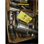 #5 MORSE TAPER QUICK CHANGE ADAPTER & TOOLING 3 BOXES