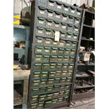 CABINET & CONTENTS - ASSORTED FASTENERS, TOOLING