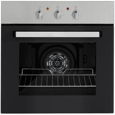 Lot 2 - 1 UNPACKAGED GRADE B UNTESTED HOTPOINT DD2544CIX DOUBLE OVEN, TRANSPORT IMPACT TO SIDE AND TOP OF