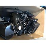 1 LOT TO CONTAIN ASSORTED ELECTRICAL STOCK, INCLUES CD PLAYERS, ALARM CLOCKS AND PORTABLE CD
