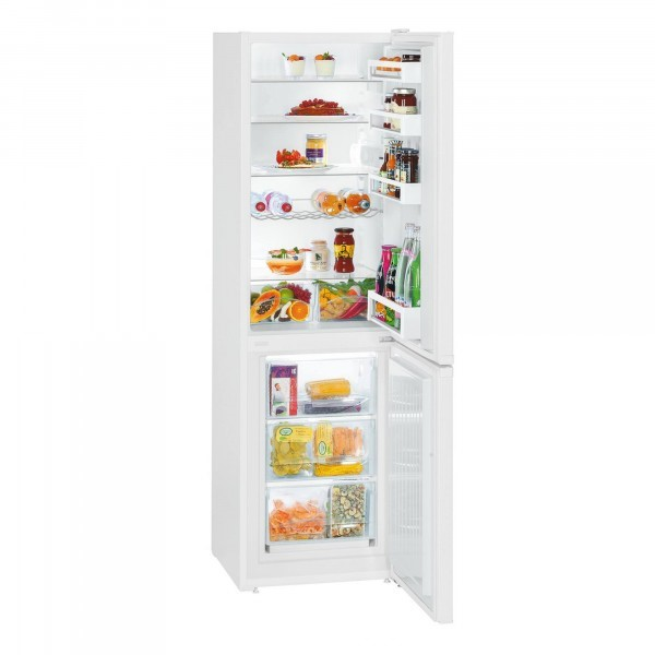 Lot 17 - 1 GRADE C LIEBHERR CU3331 60/40 FROST FREE FRIDGE FREEZER IN WHITE / RRP £479.00 (VIEWING HIGHLY
