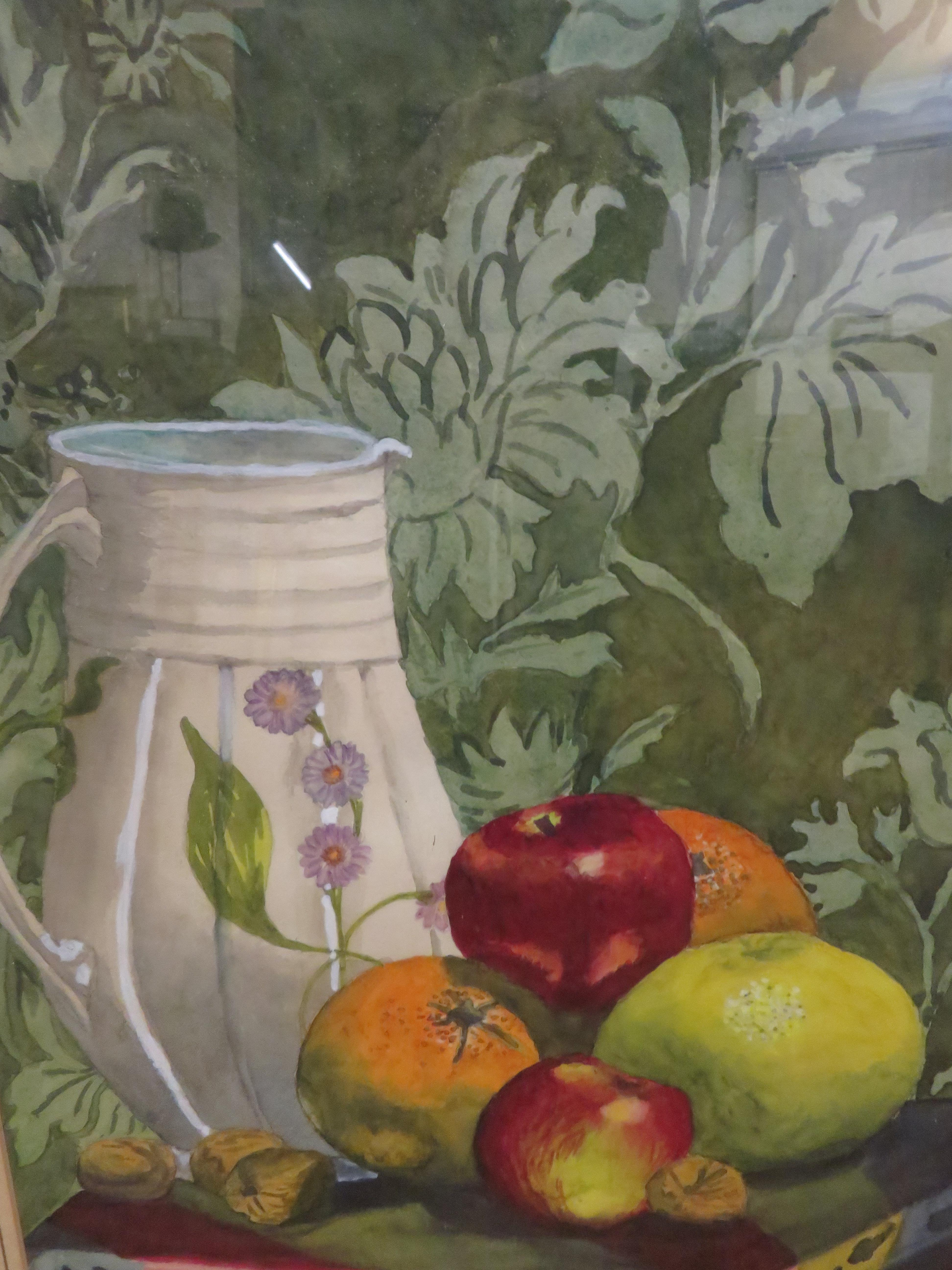Framed still life by Margaret Evangeline Leathley