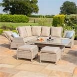 Rattan Cotswold Reclining Corner Dining Set with Rising Table & Chair **New Premium 2020 Range**