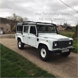 (RESERVE MET) Land Rover Defender 110 2.2 TD County Station Wagon - 2014 Model -1 Owner 19K ONLY