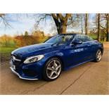 Reserve Met Mercedes Benz C220d 2dr Convertible AMG Line Premium 9G Tip Tronic - 2018 18 Reg -15k