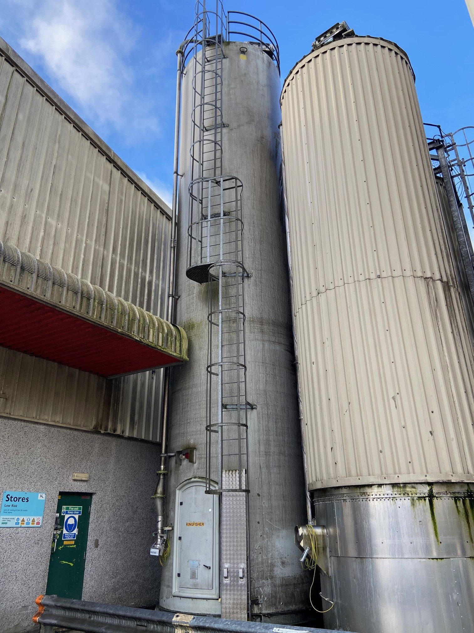 Lot 948 - Siloba, bulk storage silo (1998) Capaicty: 30 tonne; In feed, air blown, filters attached