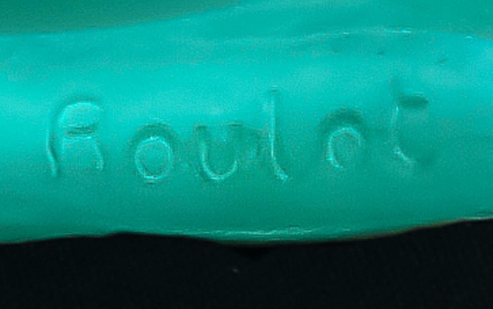A Pierre Roulot for Daum France limited edition pate de verre V'nus allong'e sculpture - Image 3 of 3