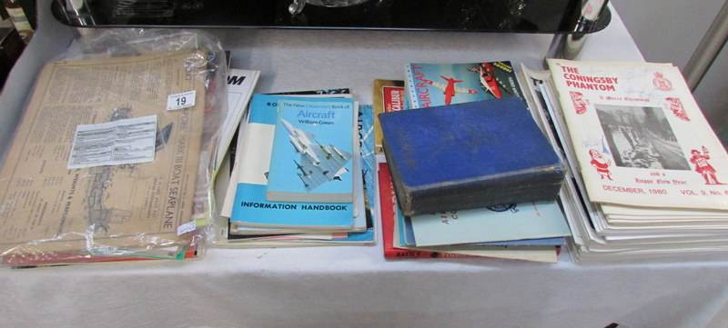 A mixed lot of books including r a f and military books for C furniture coningsby