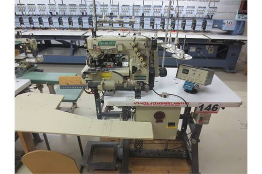 40 ATLANTA ATTACHMENT COTRACK PANT ELASTIC SYSTEM W YAMATO VF40 Best Sewing Machines Atlanta