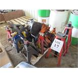 LOT OF ASSORTED HYDRAULIC JACKS STANDS