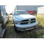 2011 DODGE RAM 1500 4X4 CREW CAB SRW PICK UP WITH HEMI 5.7L V8 ENGINE (TRUCK IS FOR PARTS)