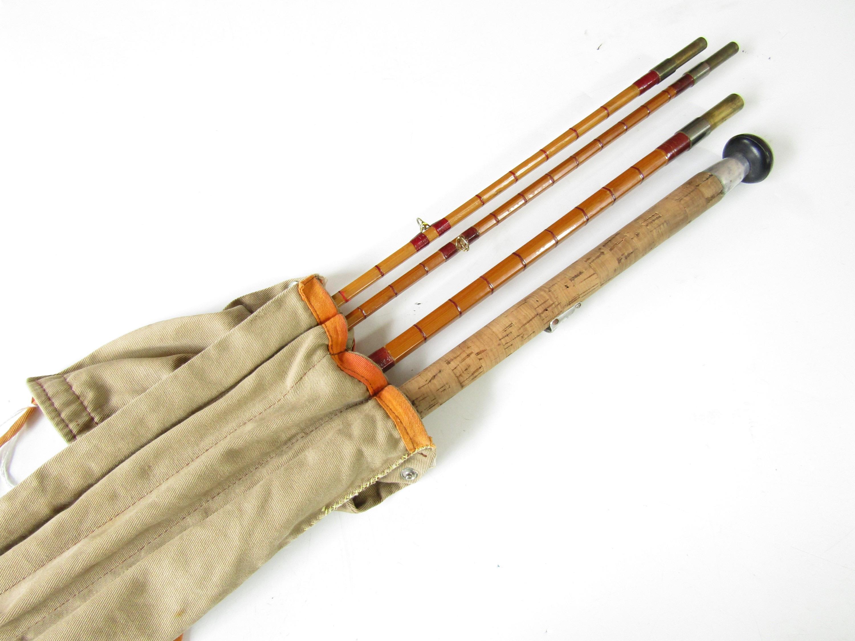 Lot 6 - A vintage Edgar Sealey split cane fly rod