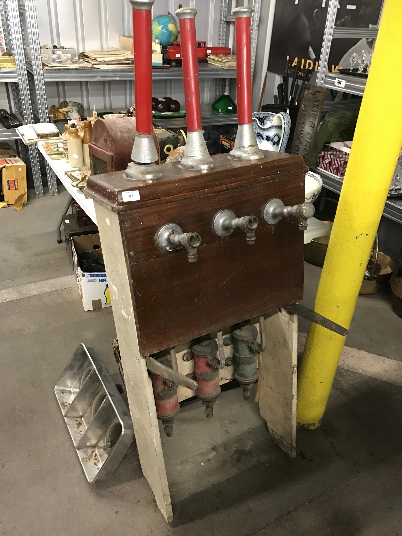Lot 54 - A vintage beer engine