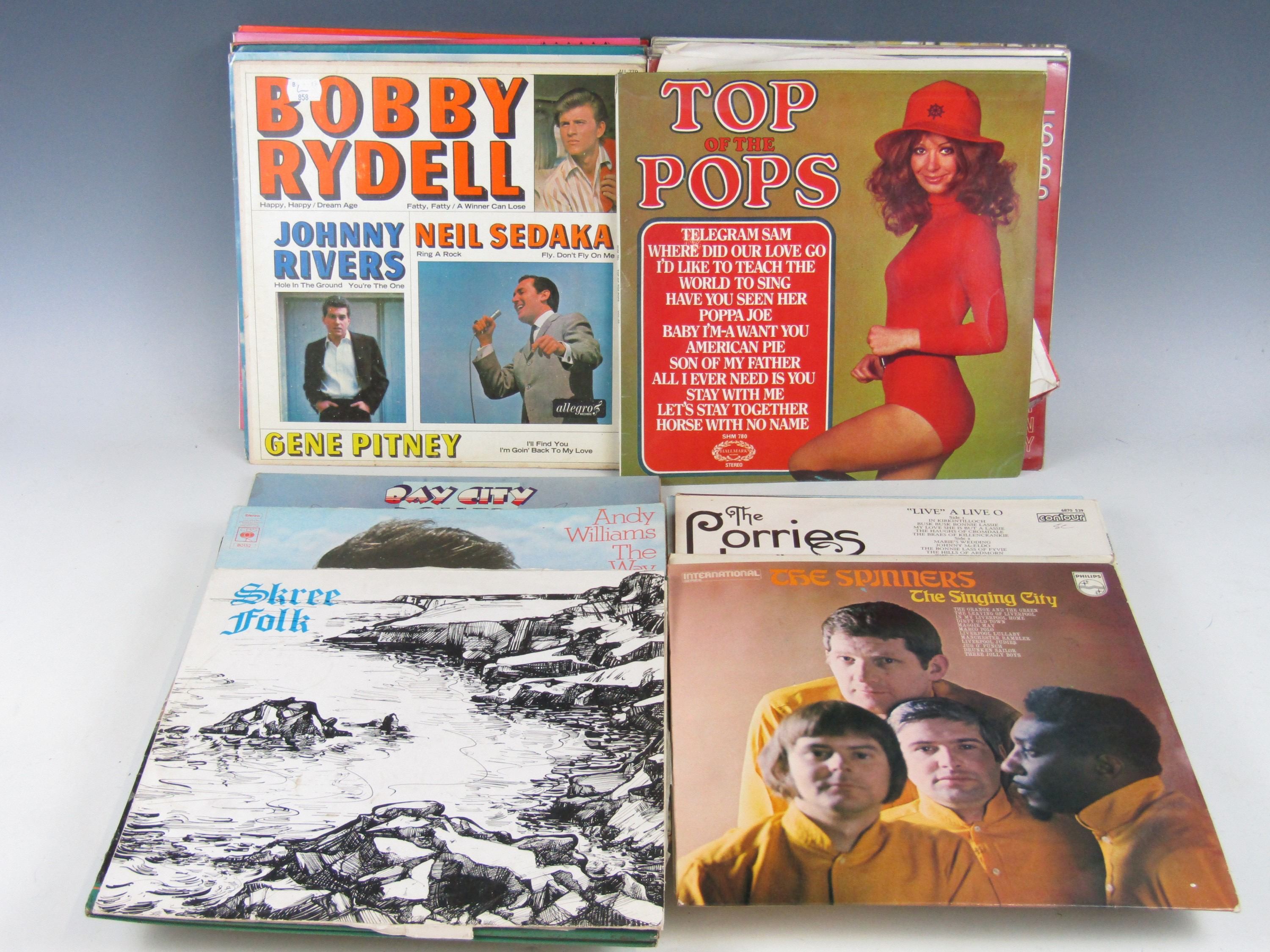 Lot 50 - A quantity of various LP's including Bobby Rydell and Top of the Pops etc