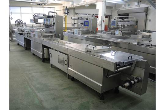 CFS/Tetra Laval Food thermoformer, type: 630, machine number