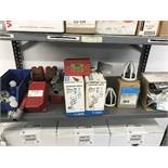 {LOT} On 1 Shelf c/o: Supervisory Switches, Repair Kits, Rubber Gaskets, Potter Module, Etc. (SEE