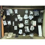 {LOT} Ridgid Packs On Pegboard c/o: Rings, Bearings, Service Kits, Spring Wear Plugs, Etc. (SEE