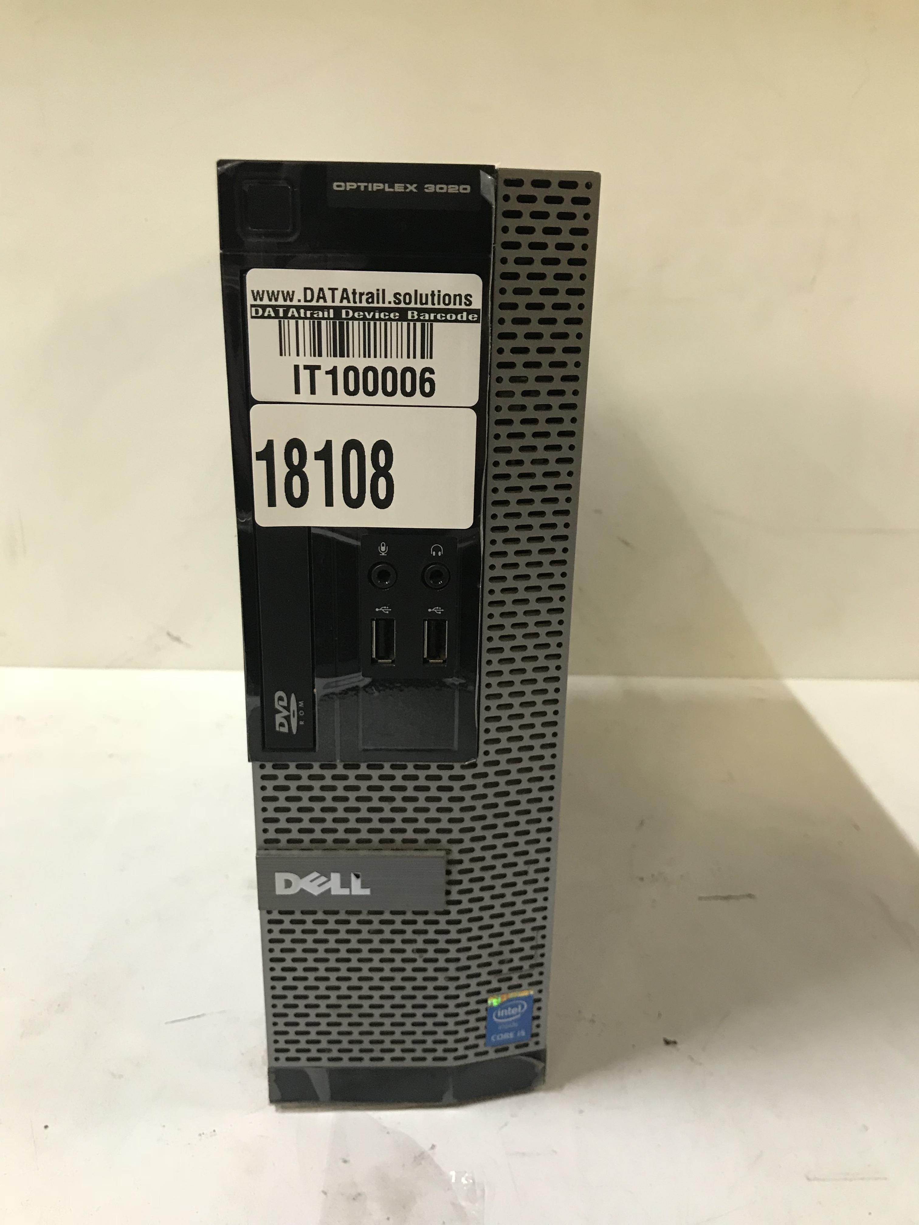 Lot 47 - Dell Optiplex i5 Desktop Computer