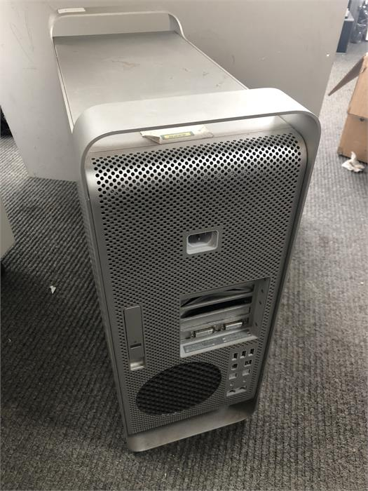 Lot 4 - Apple Mac Pro Quad Core A1186 250GB - Securely Wiped