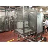 2009 Mondini cheese doser, model DF/GS-4, on wheels, with controls, panelview plus 750 controls and