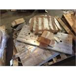 Pallet of heat plates for Mondini sealer (LOT). ** (Located in Russellville, Arkansas) ** Rigging Fe