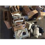 Pallet of parts, motors and valves. (LOT). ** (Located in Russellville, Arkansas) ** Rigging Fee: $5