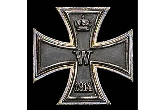 x) Germany, Prussia, Iron Cross 1914, First Class breast