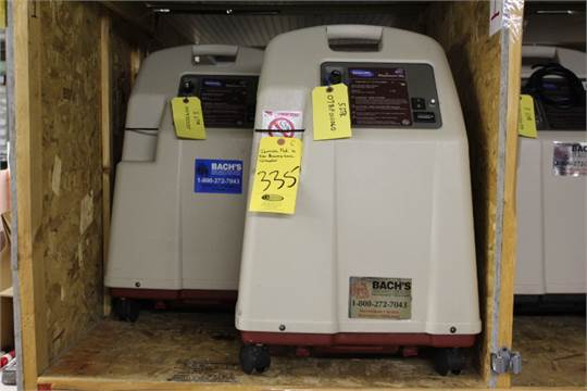 INVACARE PLATINUM XL OXYGEN CONCENTRATORS BELIEVED TO BE WORKING