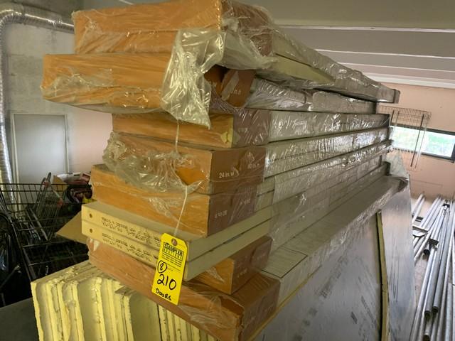 NEW BIFOLD DOORS - 7- 24''x80'' / 1- 36''x80'' (ON LOFT)