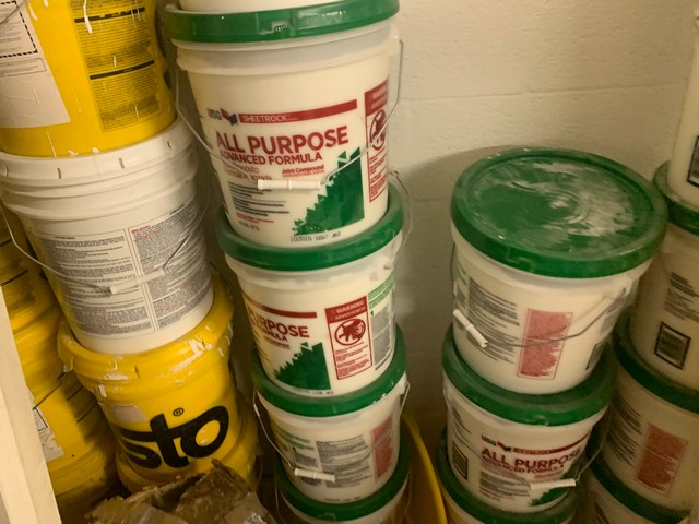 ASSORTED 5 GALLON BUCKETS - LIQUID RUBBER, JOINT COMPOUND, ACRYL PLUS, COATING, ETC (ON LOFT) - Image 2 of 2
