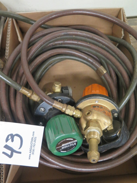 Lot 43 - Welding Torches and Gages