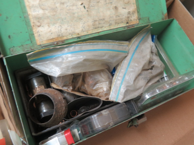 Lot 9 - Tool Box and Misc