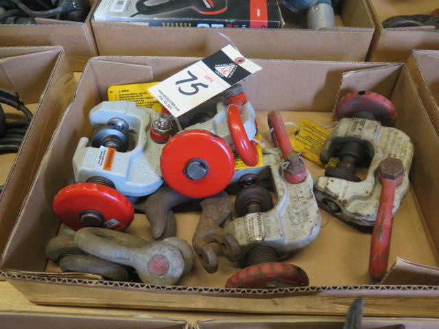 Lot 75 - Sheet Lifting Clamps and Misc