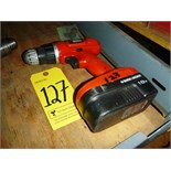 B&D 18V drill (no charger)