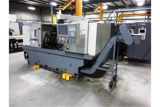 Okuma mod  Genos L400E CNC turning center, ser  no  PE145