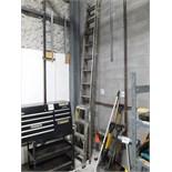 (1) 4 ft. step ladder & (1) 20 ft. extension ladder