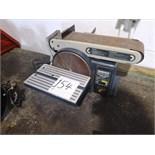 MasterCraft belt & disc sander