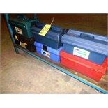 (6) tool boxes