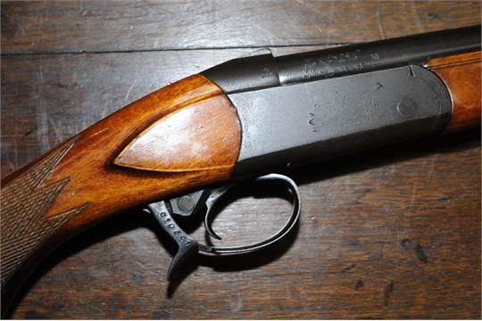 Baikal 12 bore single barrel shotgun with 28 5 inch barrel