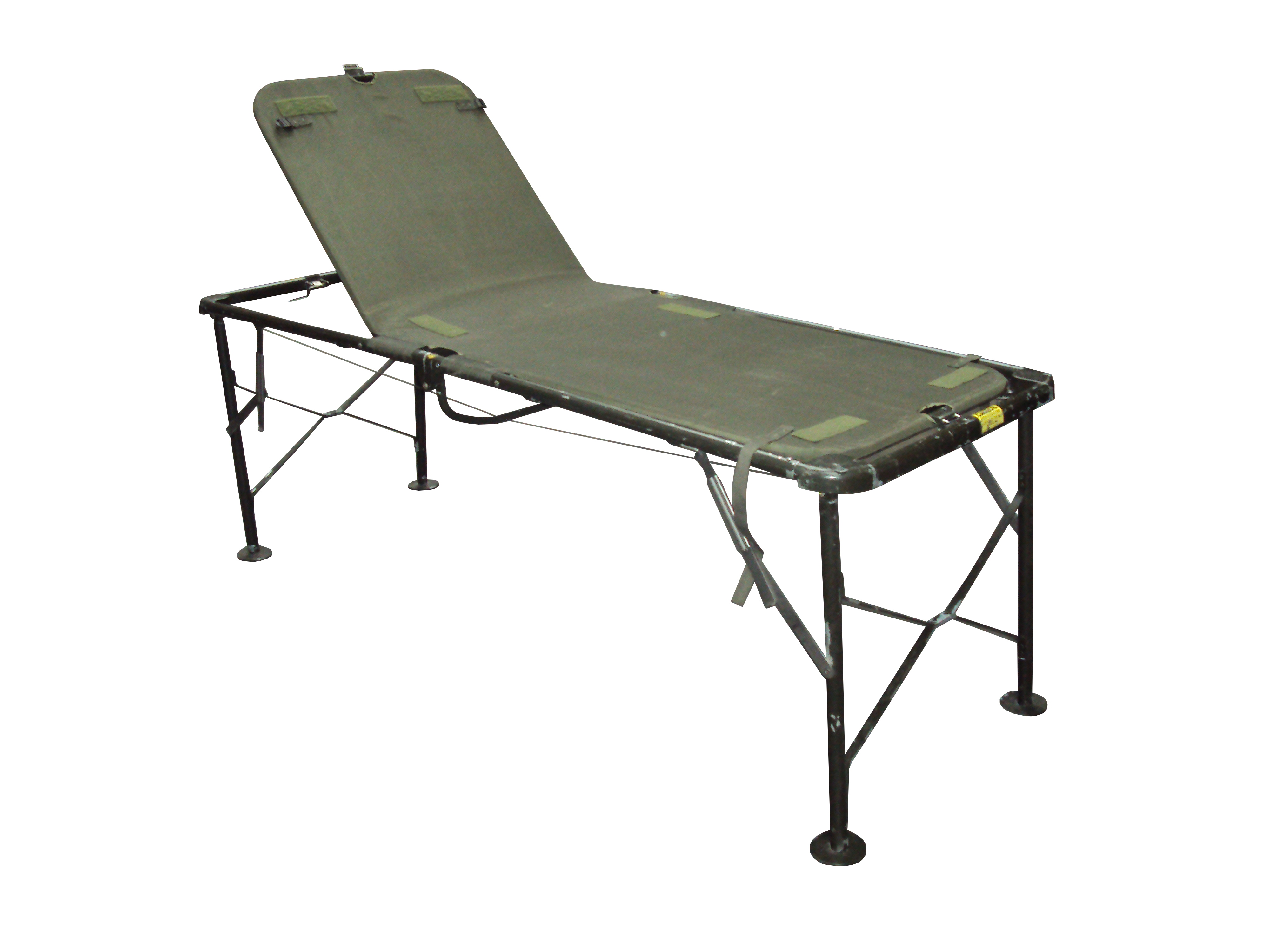 Lot 20 - Pack of 7 - Field Hospital Surgery Cot Bed - Used - Parts May be Missing
