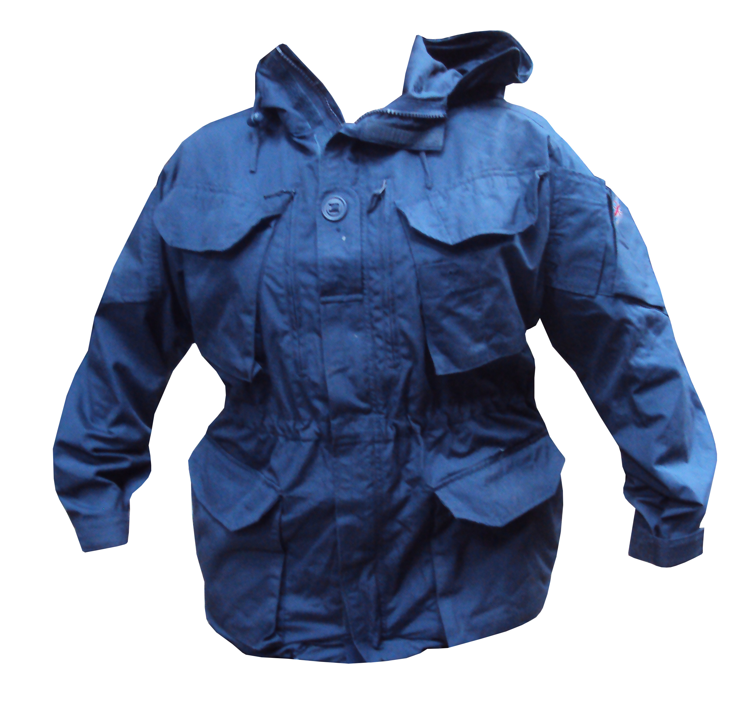 Lot 4 - Pack of 5 - Blue Windproof Smock - Large - Grade 1