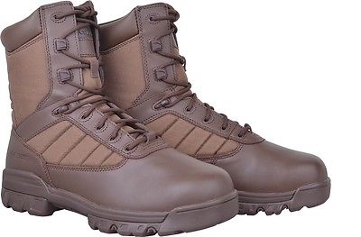 Lot 36 - Pack of 10 - Female Bates Brown Patrol Boots - Size 6 - Brand New in Box