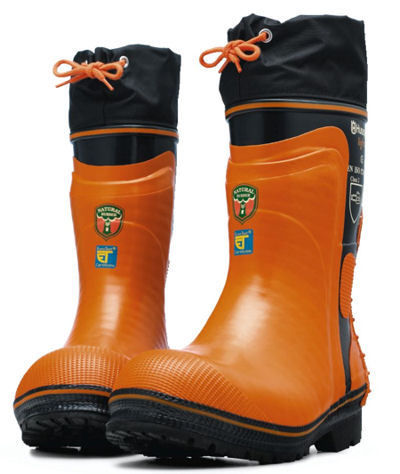 Lot 49 - Husqvarna Chainsaw Protective Boots - Size EU 47 - NEW in Box