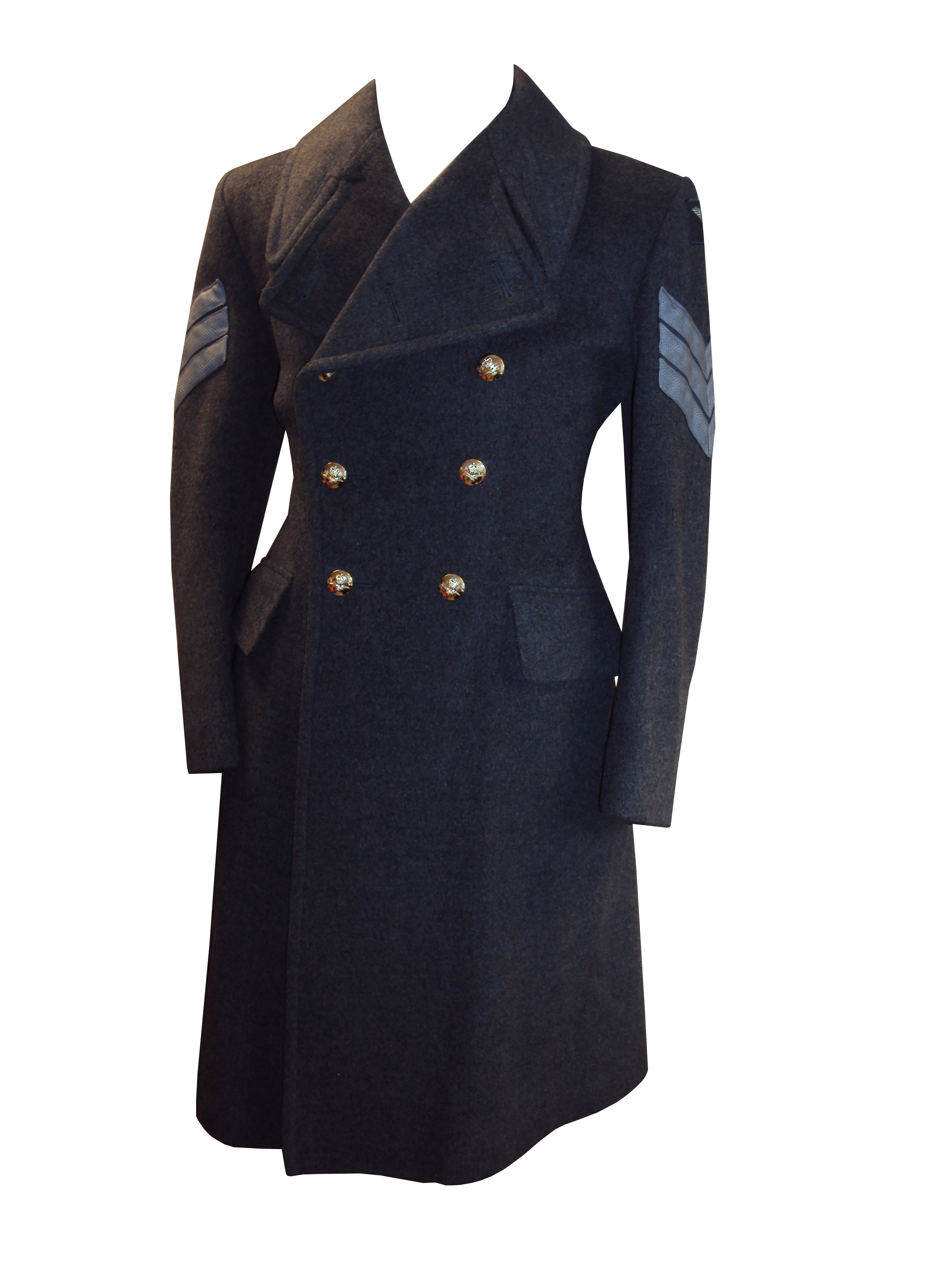 """Lot 33 - Royal Air Force Greatcoat - 40"""" Chest - Grade 1 Condition"""