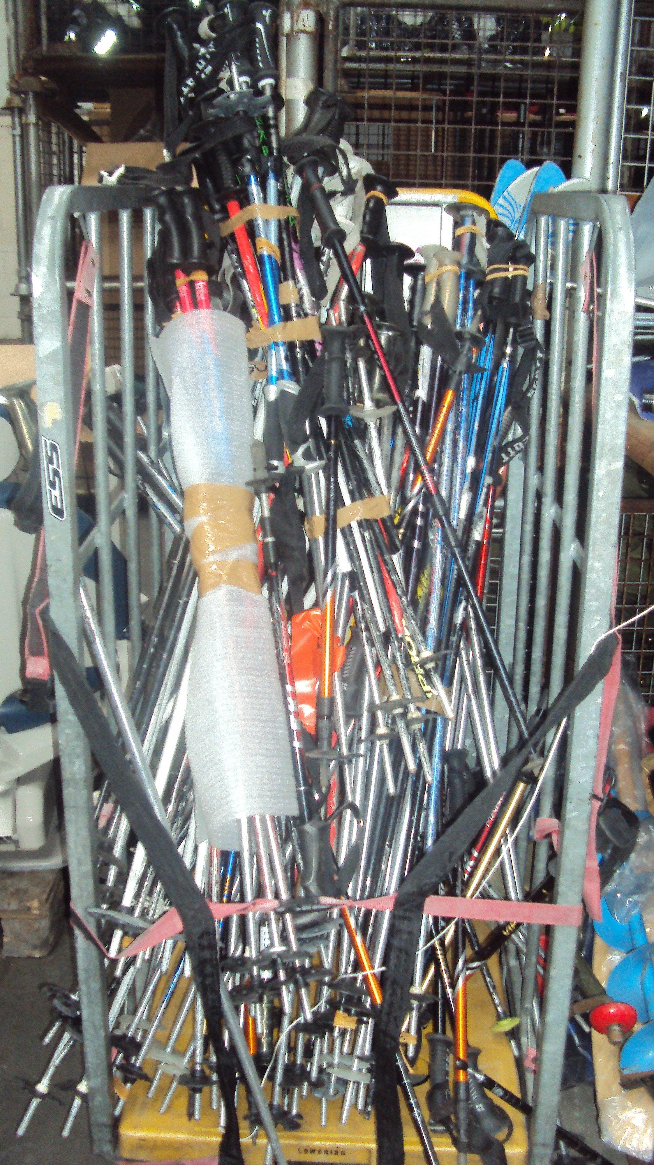 Lot 24 - Ski Poles - Various Sizes - Used