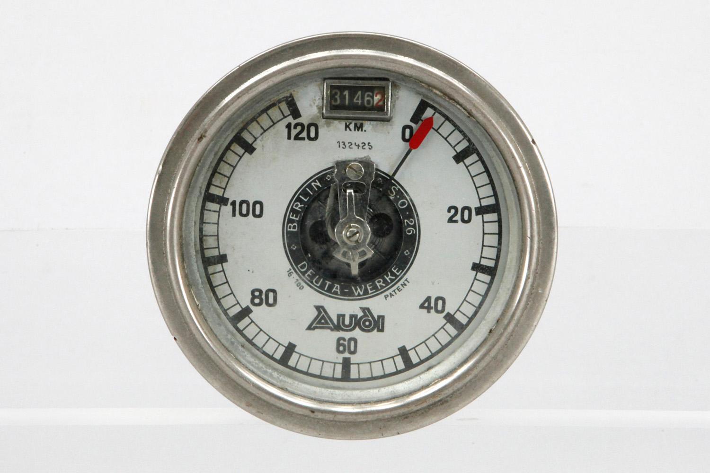 Audi-Tachometer, Deuta-Werke Wien, S.O. 26, Nr 132425, 0 ...