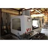 1999 Haas VF6 Vertical Machine Center w/ Haas 4th Axis 20hp Vector Drive s/n 16616